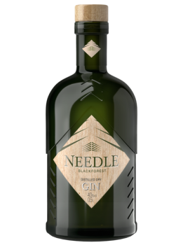 Needle Blackforest Distilled Dry Gin (6 x 0.5 l) 40 % Vol