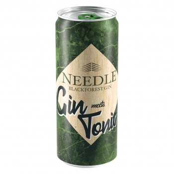 Needle Gin Tonic Dose (0,33 ltr) 10% Vol inkl.(0,25€ Pfand)
