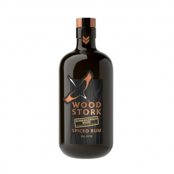 WOOD STORK Schwarzwald Made Spiced Rum (0,5 ltr) 40% Vol.