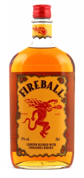 Fireball Cinnamon Whisky 33% 0,7liter